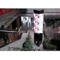 Three Sided Rolling Full Color 360 Led Screen Display Super Clear Vision Manufactures