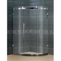 China Frameless 304 Stainless  Glass Shower Doors 8 / 10 Glass SGCC Certification for Home / Hotel on sale