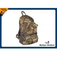Mens Lightweight Camo Hunting Backpack Durable 210 D Polyester SGS Manufactures