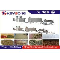 China Dry / Wet Fish Feed Pet Food Making Machine High Efficiency Steady Performance on sale