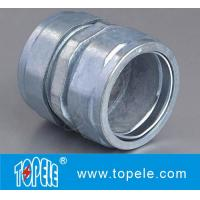 EMT Compression Coupling Zinc,Set-screw EMT Conduit Fittings Zinc Die Cast EMT Compression Coupling Manufactures