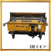 Quality Automation Wall Plaster Rendering Machine For Gypsum Paster Construction Machinery for sale