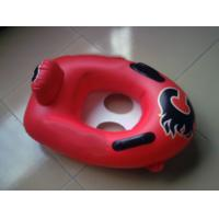 China Summer hot sell custom printing and size of red color kiddie inflatable bumper boat on sale