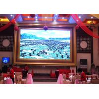 China Meeting Room Indoor Full Color LED Screen 3mm Pixel Pitch High Refresh Rate on sale
