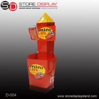 Custom Dump bin stand units for chocolates Manufactures