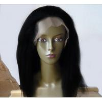 China 100 Virgin Brazilian Natural Human Hair Wigs For White Women on sale