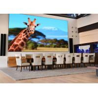 Quality Seamless Interactive Led Display  Video Wall , P0.9 Led Publicity Screens for sale