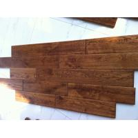 China hand scraped solid wood oak flooring/oak hardwood flooring on sale