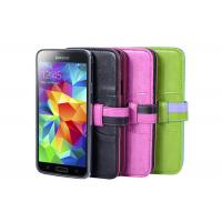 Colorful Samsung Leather Phone Cases For Samsung Galaxy With Low Price Manufactures
