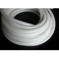 China Polyester Braid Silicone Rubber Tubing , Flexible Silicone Hose Food Grade Without Smell on sale