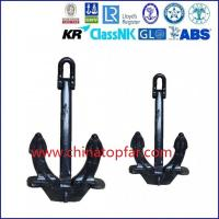 Hall anchor,bow anchor,marine stockless anchor, Type A B C hall anchor Manufactures