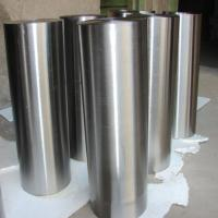 China Nonmagnetic Titanium Alloy Ingot , Titanium Round Stock High Intensity on sale