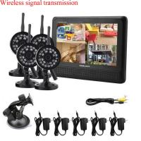 4 CH Quad picture Wireless CCTV DVR System , Video DVR Security Systems Manufactures