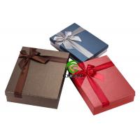 Colorful Corrugated Cardboard Jewelry Gift Boxes Small Size Offset Printing