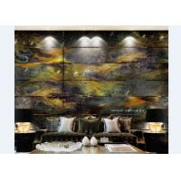 Unique Modern Decorative Glass Wall Art Panels Foe Living Room / Home Decor Manufactures