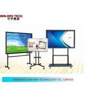 """All In One PC 65"""" Full HD LCD Touch Screen Kiosk , Education Digital Signage Manufactures"""