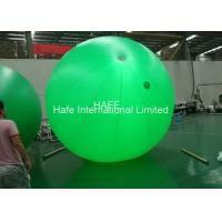 China Flashing Ourdoor Floating Led Helium Balloon Lights 135w Decoration 3.5m Dia on sale