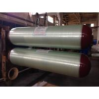 30CrMo Steel Glass Fiber Natural Gas Bottle , ISO11439 / ECE R110 Compressed Gas Tank Manufactures