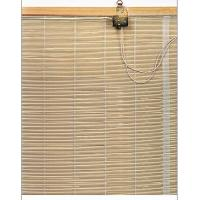 Woven Wood Bamboo Window Blinds Curtains Brown / Outdoor Roll Up Blinds Manufactures