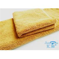 China 15mm High Pile Micro Fiber Cleaning Cloth Towel No Fading For Bathroom for sale