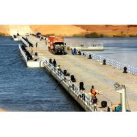 Heavy Loading Capacity Floating Water Bridge With Single Pontoon Manufactures