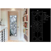 Solid Flat Tempered Decorative Glass Windows Private Imports Series Finely Detailed Manufactures