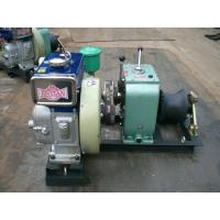 China Safe / Reliable Diesel Engine Wire Rope Winch 1 Year Warranty Cable Pulling Winch on sale