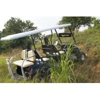 Electric Utility 6 Passenger Golf Cart Sand Tyre Multifunctional For Tourist Resort Manufactures