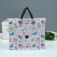Shopping Mall Custom Printed Plastic Bags Tote Bag With Handle 1-8 Colors Printed Manufactures
