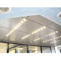 Building Lay In Ceiling Panels Sound Insulation  For Exhibition Centre  Hospital Manufactures