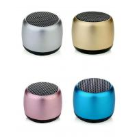 China M1 paired small mini wireless bluetooth speaker small steel cannon portable super connected mobile phone small sound hea on sale