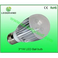 Recyclable No glare, radiations LED Ball Bulbs LG-QP-1003C Manufactures