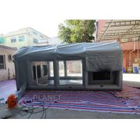 Air Sealed Frame Inflatable Spray Paint Booth Tent For Car Washing Manufactures