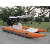 Strong Catamaran Work Boat Durable And Hand Crafted With SS Transom Manufactures