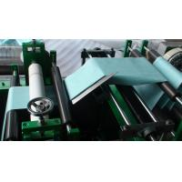 Folding Slicing Machine Non Woven Slitting Machine Servo Mechanical And Electrical Control Manufactures