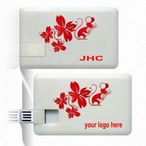 Free File Preloading Credit Card USB Pen Drive (L-043) Manufactures