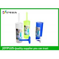 HT1060 Toilet Bowl Cleaner Brush , White Toilet Brush With Rim Cleaner Manufactures