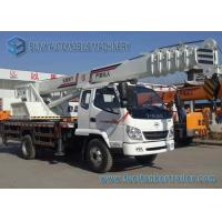 High Performance 5000KG FEITAO / SHIMEI Crane Mounted Truck 4X2 Manufactures