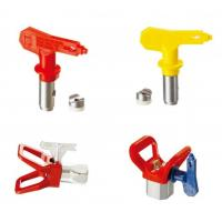 Blue / Red / Yellow / Black Spray Tips Airless Sprayer Accessories With OEM Service Manufactures