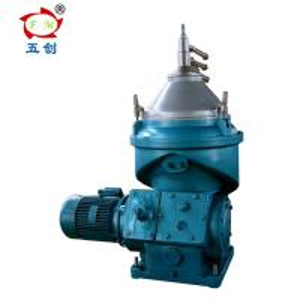 Vegetable Oil Water Separator Machine / Disc Stack Oil Separator 6500r/Min