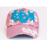 5 Panel Cotton 3d Embroidery Baseball Caps / Snapback Hats For Spring Manufactures