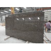 Standard Size Baltic Brown Granite Kitchen Slab , Heavy Duty Stone Granite Slabs Manufactures