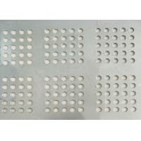 Punching Round Perforated Metal Ease Use Extremely Versatile Economical Manufactures