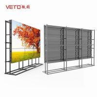 China Indoor 3.5mm Seamless Video Tv Wall Ultra Thin 450 Nits Full HD Picture Resolution on sale