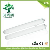 Double u Shaped Fluorescent Tube 12mm Mix Powder CFL Raw Material / 2u Glass Tube Manufactures