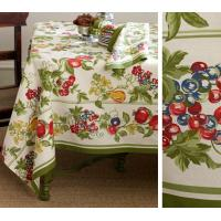 Decorative No fading Custom Table Cloths custom made table linens Manufactures