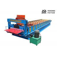 China Metal Roof Tile Roll Forming Machine Iron Sheet Zinc Metal Building Material on sale
