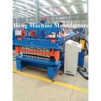 China Integrity Galvanized Roofing sheet roll forming machine for industrial house on sale