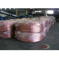 China Small Size Stright Casting Red Copper Rods Hot Rolling 8mm - 300mm on sale