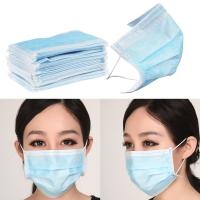 BFE99 Non Woven Products Protective Surgical Mask Medical Blue For Hospital Manufactures